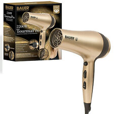 Bauer Tourma Pro 2200W Ionic Hair Styler Styling Drying Salon Dryer Hairdryer