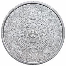 Golden State Mint 2 oz Silver Aztec Calendar Round GEM BU