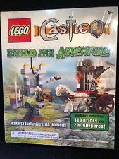 LEGO Castle Build an Adventure, 140 Bricks & 2 Minifigures Building Blocks Toys