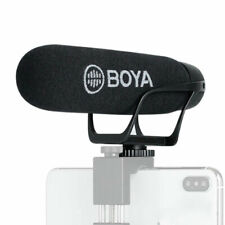 Microfono super cardioide BY-BM2021 BOYA jack 3.5mm TRS TRRS per riprese video