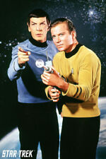 STAR TREK - KIRK & SPOCK POSTER - 24x36 TV 241442