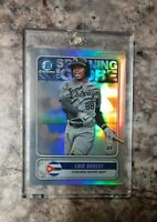 Luis Robert 📈 2020 Bowman Chrome 🔥 Refractor  FREE SHIPPING Rookie RC NICE !!