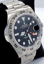 Rolex Explorer II 216570 Steel Black Dial 42mm Men's Watch *Mint Condition*