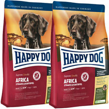 2 X Happy Dog Supreme Africa 12 5kg