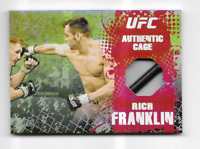 Topps UFC Main Event Cage Relic Card Rich Franklin