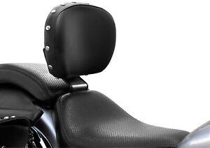 Bakup USA - BAK-Y-RDSTR-FA-STUD - Driver Studded Backrest, Fully Adjustable~