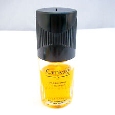 "Apple Cosmetics ""CARNIVALE S"" Cologne Spray 1.7 oz 50 ml VINTAGE, MISSING SOME"