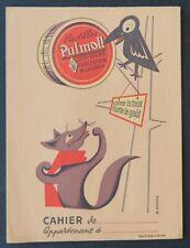 Protège cahier Pastilles PULMOLL Corbeau et renard