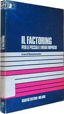 CASSANDRO Il factoring per le piccole medie imprese GIUFFRè 1982