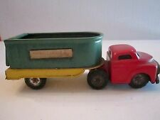 1950'S Mar Line Toys - Mid West Freight Truck - Good Condition - Tub G