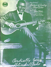 Masters of Country Blues Guitar Blind Blake Learn to Play Guitar TAB Music Book