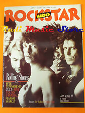 rivista ROCKSTAR 69/1986 Rolling Stones Pete Townshend Fine Young Cannibals Nocd
