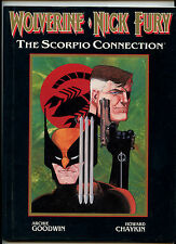 Wolverine Nick Fury Marvel Graphic Novel Scorpio Connection (1st Prt) HC MINT