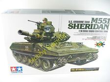 Tamiya 1/16 R/C M551 SHERIDAN  US Airborne Tank  Vietnam Full -Option Kit  56043