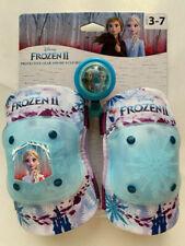 Disney Frozen II Equipo Protector Y Bicicleta Bell - Rodilla Coderas Sin Guantes