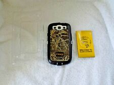 Otter Box Defender Samsung Galaxy S lll Phone Case Protector Cover-No Belt Clip