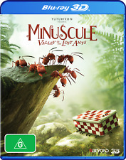 Minuscule: The Valley Of The Lost Ants 3D BLU RAY $19.99