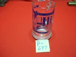 VINTAGE KENNEDY SPACE CENTER NASA COLLECTIBLE DRINKING MUG GLASS SHUTTLE EXC CON