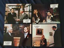 Lot de 16 photos d'exploitation de cinéma du film: LA RAISON D'ETAT de 1978
