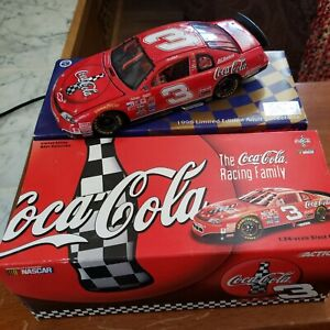 1998 Dale Earnhardt #3 Limited Edition Coca-Cola 1:24-scale Stock Car (50th)