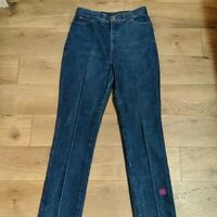 Emilio Pucci Vintage Ultra Super High Waisted Jeans 15/16 70's boho look