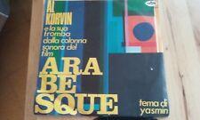 "AL KORVIN ""TEMA DI YASMIN"" 7"" GTA Ita OST ARABESQUE"