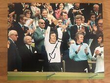 Franz Beckenbauer Hand signed 10x8 German WC 1974 Photo - Bayern Munich Munchen