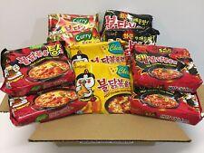 SamYang Spicy Chicken Ramen Noodle Buldak Variety Curry pk, Nongshim shin, Paldo