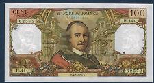 FRANCE - 100 FRANCS CORNEILLE Fay n° 65. 29 du 8-1-1970.D en NEUF   H.444 62572
