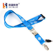 New GE Blue Lanyard Belt Sling for ID Case Badge Holder of Flight Crew