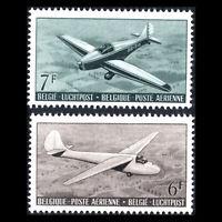 Belgium 1951 - Airplanes - Sc C13/4 MNH
