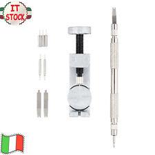 Kit Riparazione Orologi Professionale+4 perni Orologio Strumento di Rimozione