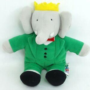 Babar elephant plush soft toy doll Small