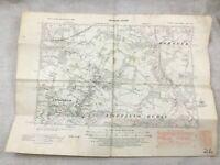 1938 Mappa Antica Di East Sussex Horstead Lindfield Rurale Contea Originale