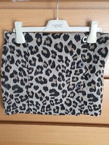Girls Next Leopard Print Skirt Age 8yrs