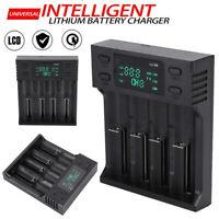Li-ion Battery Charger 26650/21700/20700/18650/18490/AA/AAA/ Universal 4 Slot