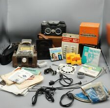 vintage Sawyers View Master CAMERA & FILM CUTTER + accessories RARE Viewmaster !