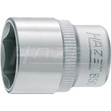 "Hazet 850X-9 HINOX (6-Point) Hollow 6.3mm (1/4"") Hexagon 9-9 Traction Socket"