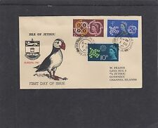 GB Jethou 1961 European Postal & Telecommunications Conference FDC