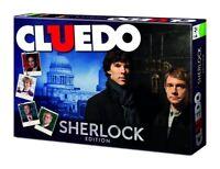 Cluedo Sherlock Edition - Gesellschaftsspiel Brettspiel Holmes Detektiv Spiel