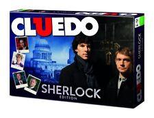 Cluedo Sherlock Edición - Juego de Mesa Holmes Detective Juego