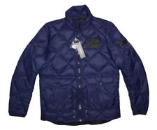 DIESEL W-Spill Down Veste Bleu Marine Taille XS 100% Authentique