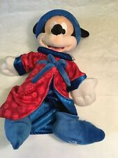 """New listing Nwt 2013 Disney Parks Magic Sorcerer Fantasia Mickey Mouse Plush Toy Believe 12"""""""