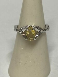 Ring Bomb Party Ring Size 6 Citrine SRP $68