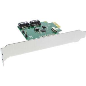 InLine® Schnittstellenkarte, 2-fach SATA 6Gb/s, x1 PCIe 2.0, RAID 0/1/SPAN