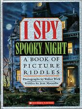 I Spy:  Spooky Night  -  Picture Riddles  -  NEW -  HC - Marzollo & Wick - MINT