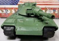Original 1982 GI JOE MOBAT Tank not working not complete parts repair display