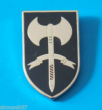 SPECIAL OPERATIONS ENGINEER REGIMENT LAPEL BADGE ENAMEL & SILVER PLATED 30MM