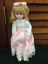 """Bisque Doll Blond Blue Eyes 10"""""""