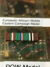US European African Middle Eastern Campaign Service Medal Ribbon Slide On